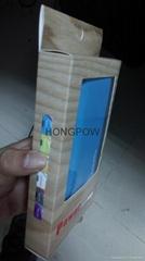 12000mah dual usb 2.1A output LED screen portable mobile power bank