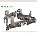 Baby mother extruder plastic recycling machine