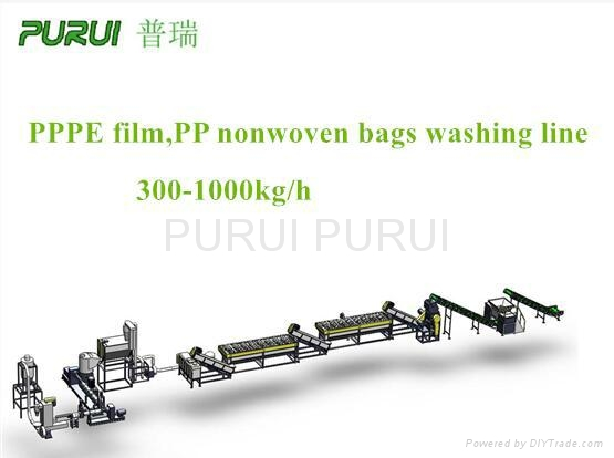 PP 无纺布编织袋清洗线塑料回收线 1