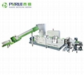 Plastic recycling machinery plsatic