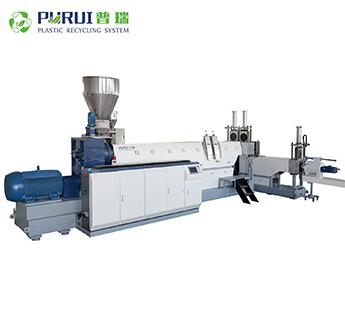 SIngle extruder plastic pelletizing line plastic recycling machine 2