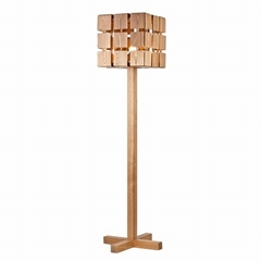 2014 Modern Design Wooden Floor Lamp