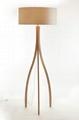 2014 Modern Design Natural wood Floor Lamp(LBMD-ZY) 2