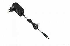 US/UK/EURO plug ac adapter 5V 12V power charger