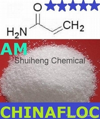 Chemicals Microbiology Grade Acrylamide Powder 98% for universal applications