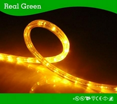 2-Wire Flat Amber LED Rope Light