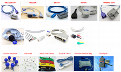 Compatible Patient Monitoring Accessories