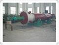 High efficiency rotary film evaporator