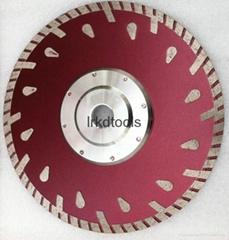 segmented blade