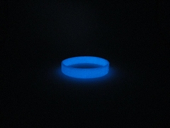 custom glow in the dark printed silicone bracelet,wristband