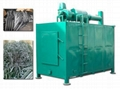 energy saving and high speed wood charcoal carbonization furnace 2