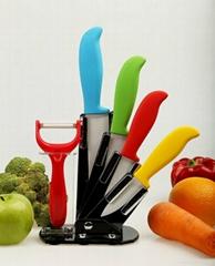 kitchen ceramic knife set