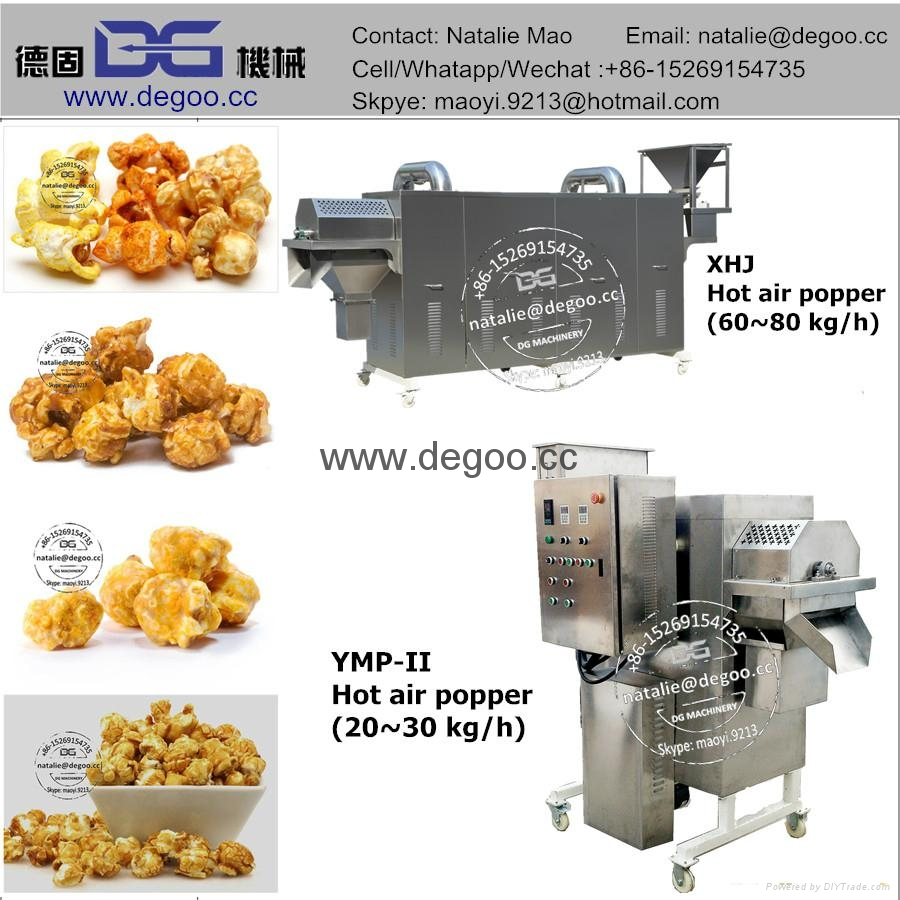 Industrial popcorn machine  2