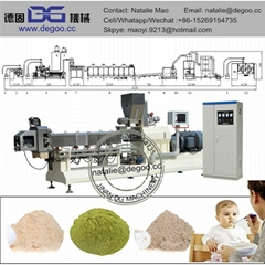 Baby food nutritional powder production