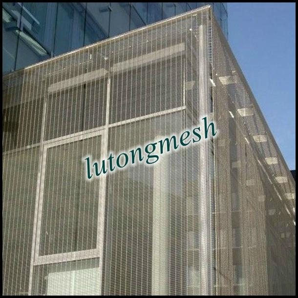 Mesh Curtain Wall : Anping high quality decorative metal outdoor curtain wall