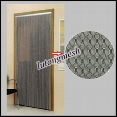 2014 New design Chain Link Metal Mesh Curtains For Living Room