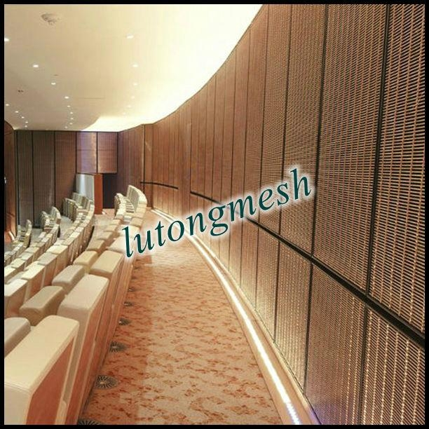 Mesh Curtain Wall : Aping hot sale architectural wire mesh curtain wall