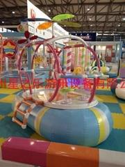 直升机 淘气堡儿童乐园