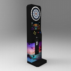 First worldwide online darts machine