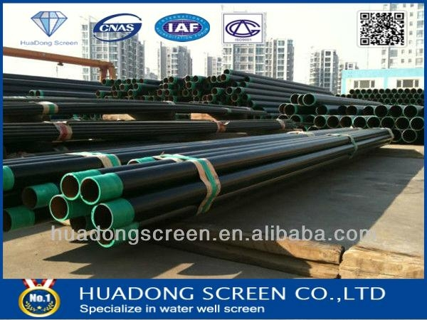 Carbon steel spiral pipe for water well  4