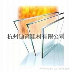 6mm单片非隔热型防火玻璃