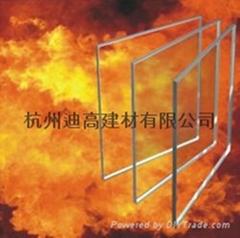 8mm单片非隔热型防火玻璃
