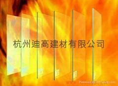 10mm单片非隔热型防火玻璃