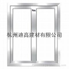 鋼質防火玻璃門
