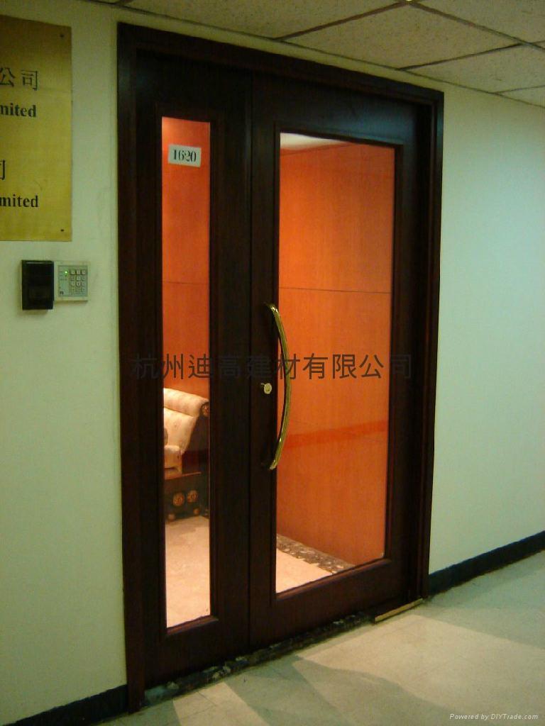 鋼質防火玻璃門 4
