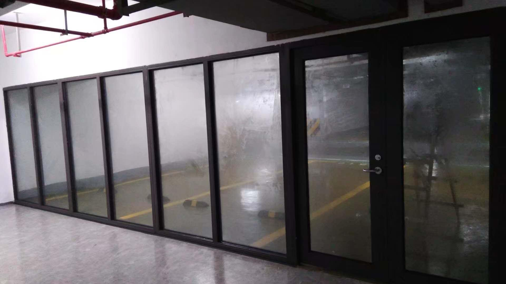 防火玻璃系统隔断 2