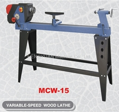 VARIABLE - SPEED WOOD LATHE MCW-15""