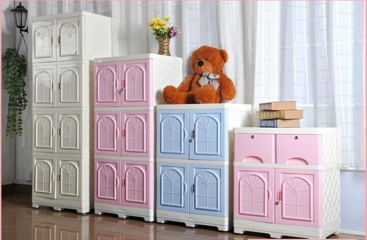 Storage Cabinet Kids Plastic Bo 1