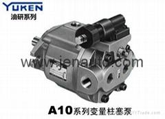 代理YUKEN/油研变量柱塞泵A10-L-R-01-C-K-10