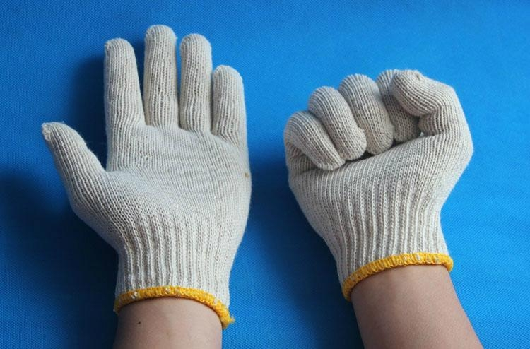 supply good quality cheap cotton working glove with good  reputation  1
