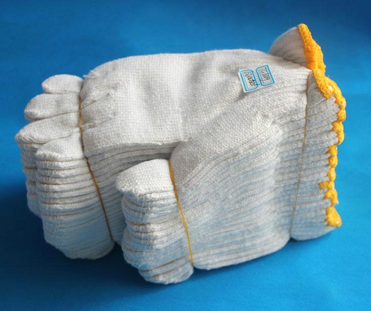 supply good quality cheap cotton working glove with good  reputation  2