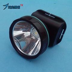 鋰電藍光釣魚頭燈 LED 遠射