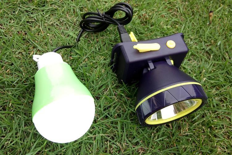 廣東廠家專業生產太陽能光伏板充電頭燈 4