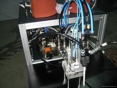 LED灯泡双组份自动点胶机