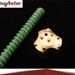 SupAnchor Self-Drilling Rock FGRP Bolt