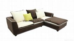 2014 new model living room conner sofa set furniture set