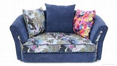 2014 Unique design colorful sofa set