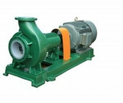 IHF PTFE Teflon Centrifugal pump Chemical Process Pump