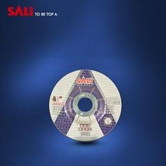 """T27 4"""" Aluminum Oxide depressed center grinding wheel for polishing metal"""