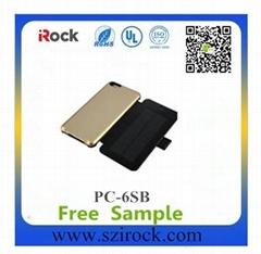 4800mAh Solar Power Case For iPhone 6 Plus