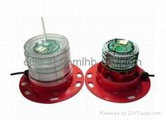 YH-125G Navigation light Lantern Lamp Lighthouse Solar light
