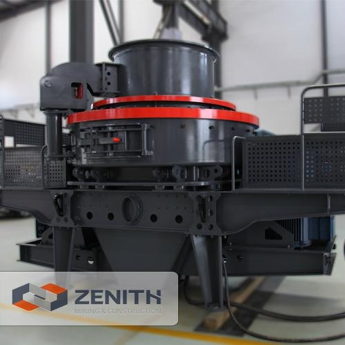 High Capacity Deep Rotor Vertical Shaft Impact Crusher for Quarrying and Mining 1