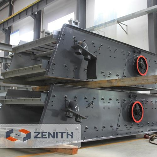 vibrating screen is a key mining