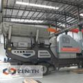 High Capacity Low Operation Cost Mobile Combined Crushing Plant