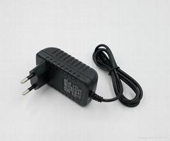 AC power adapter 24v 1a for LED Lighting/Camera CCTV