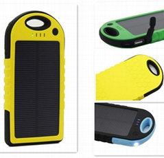 Waterproof Solar Charger for Cellphone WSC-5K